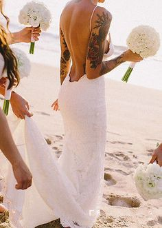 The 80 Best Wedding Dresses For Tattooed Brides Images On Pinterest Bridal Gowns Dream And Engagement