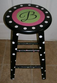 Enchanted in Elementary: Teacher stool