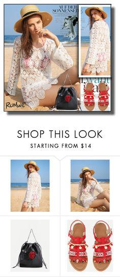 """""""//Romwe 4.//"""" by fahirade ❤ liked on Polyvore"""