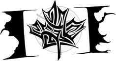 tribal maple leaf tattoo - Google Search