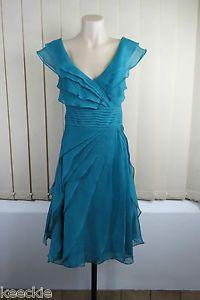 Leona Edmiston Size S 10 Ladies Dress Feminine Wedding Cocktail Formal Event | eBay