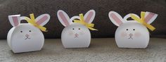 Curvy Box Bunnies made with Stampin' Up!'s Curvy Keepsake Box.  For my take on these adorable bunnies, go to my Monday, March 9, 2015, blog at http://kmaurer.stampinup.net