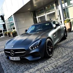 Matte attack. Impressions from headquarters in Affalterbach. Photo credit: @keeponracing [Mercedes-AMG GT | Combined fuel consumption: 9.3 l/100km | CO2 emission: 216 g/km]