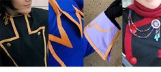 "firewolf826: "" This seamless trim technique is a method I've been using for years to add custom trim to my costumes without any top-stitching at all. Similar in a way to bias tape, but with many key..."