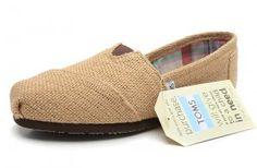 $28.00Natural Burlap Khaki Womens Classics Toms Shoes [toms-071] :