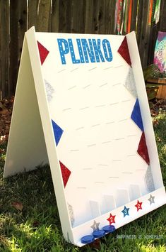 Best DIY Backyard Games - DIY Backyard Plinko Game - Cool DIY Yard Game Ideas for Adults, Teens and Kids - Easy Tutorials for Cornhole, Washers, Jenga, Tic Tac Toe and Horseshoes - Cool Projects for Outdoor Parties and Summer Family Fun Outside Diy Yard Games, Backyard Games, Outdoor Games, Outdoor Parties, Outdoor Toys, Giant Lawn Games, Yard Games For Kids, Backyard Kids, Outdoor Camping