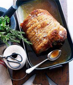 Australian Gourmet Traveller recipe for porchetta.