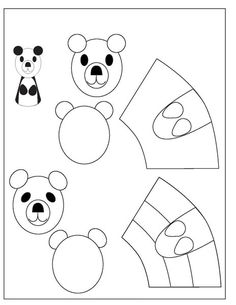 Coloring Sheets, Symbols, Letters, China, Panda, Education, Puppets, Baby Dolls, Fingers
