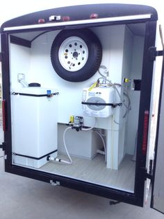 Pinned from primpmypetmobilespa beautiful mobile grooming unit mobile grooming trailer by le paws mobile groomer more solutioingenieria Gallery