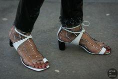Celine shoes Philosophy socks by STYLEDUMONDE Street Style Fashion Photography