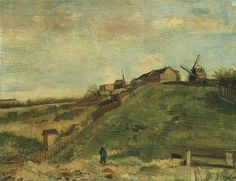 Montmartre Quarry the Mills | Vincent Van Gogh | oil painting #vangoghpaintings