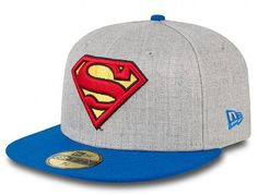 Heather Hero Superman 59Fifty Fitted Cap by NEW ERA x DC COMICS