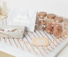 Dressing Your Desk ~ I love these rose gold desk accessories! For a pretty feminine work space Dressing Your Desk ~ I love these rose gold desk accessories! For a pretty feminine work space Rose Gold Rooms, Rose Gold Decor, Rose Gold Bedroom Accessories, Copper Desk Accessories, Office Accessories, Room Decor Bedroom Rose Gold, Bedroom Scene, Camera Accessories, Deco Rose