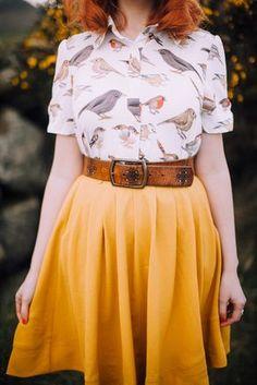 Vintage Mode - Vintage Still Quirky Fashion, Fashion Mode, Look Fashion, Autumn Fashion, Vintage Fashion, Fashion Outfits, Womens Fashion, Fashion Trends, Dress Fashion