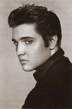 a2996dc1ac Elvis Presley - Rock Music Poster - Vintage Retro Wall Home Decor Kraft  Paper