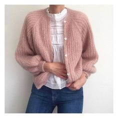 Pijamas Women, Knit Cardigan Pattern, Casual Outfits, Fashion Outfits, Fashion Tips, How To Purl Knit, Knit Fashion, Looks Cool, Capsule Wardrobe