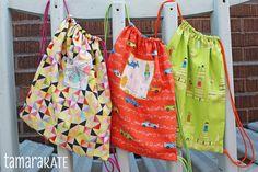 { Happy Sewing } ... Little Backpacks Tutorial http://www.kayajoydesigns.com/happy-sewing-little-backpacks-tutorial/