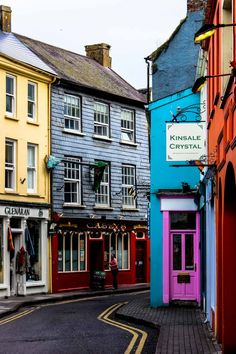 The colorful charm of Kinsale, Ireland. My favorite little town.