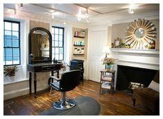 Hair Salon in Your Home   Home Menu ↓