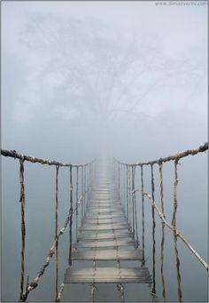 Vietnam. Rope Bridge