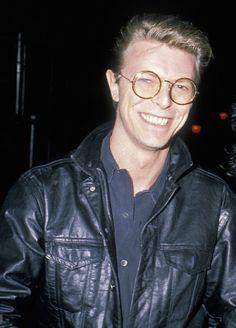 I love his glasses! <3