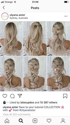 beautiful hair styles for wedding Special Occasion Hairstyles, Hairdo Wedding, Wedding Hair Inspiration, Wedding Hair And Makeup, Dream Hair, Bride Hairstyles, Bridesmaid Hair, Hair Dos, Hair Beauty