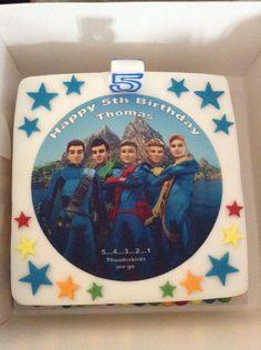 @ThunderbirdsHQ Here's his #FAB birthday cake too! #ThunderbirdsAreGo