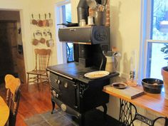 Cook Stove In Kitchen