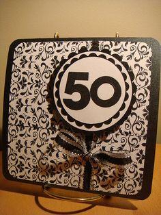 50th Birthday Card by Simone Naoum, via Flickr