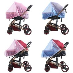 High quality baby stroller baby stroller special mosquito net increase encryption universal baby car full cover half guard nets