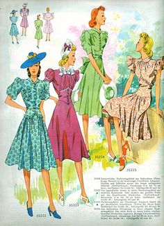 Someday in my office/sewing/craft room I want old patterns and ad's from the 40's and 50's framed and on the walls.