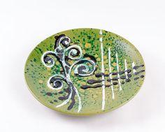 Piatto in ceramica collezione Segni d'Autore | KRISMAKER