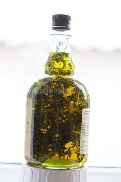Olivenolie med timian |
