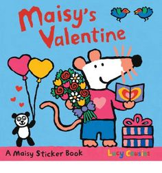 Maisy is baking goodies for Valentine's Day, but she needs the help of her fans to find the ingredients, put on her apron, pass around presents, and even go on a special train ride with her friends. Includes 40 stickers. Full color. Consumable.