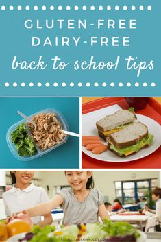Sending the kids back to school soon? Check out these useful tips for getting healthy meals to the table and keeping with your gluten-free dairy-free diet without losing your mind! Dairy Free Dips, Dairy Free Soup, Dairy Free Recipes, Vegan Recipes, Turkey Recipes, Crockpot Recipes, Chicken Recipes, Lactose Free Diet, Burnt Food