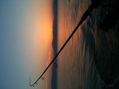 Fishing at sunset in the Saronic Gulf
