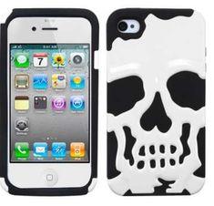 Skull iPhone Case  #Skull #iPhone #Christmas http://www.trendhunter.com/