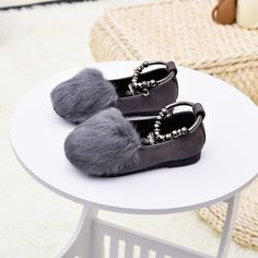>> Click to Buy << Autumn/Winter Kids Girl Shoes Baby Fashion Casual Shoes Children Suede Princess Soft Baby Shoes Leather Fur Shallow Mouth Shoes  #Affiliate