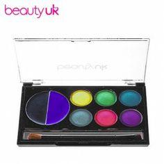 Beauty UK Eye Shadow & Eye Liner Collection no 1 Disco luomi- ja rajausväripaletti