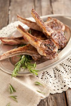 Paula Deen Grilled Rosemary Lamb Chops
