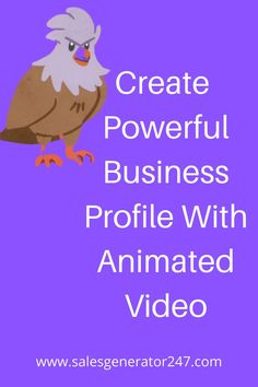 No Skills Required -Create A Powerful Business Profile With Animated Video Software to gain customer,shareholders, stakeholders ,employee trust and create a positive environment for business understanding. #software #animatedvideosoftware #cartoonvideotool Cartoon Gifs, Animated Cartoons, Create Animated Gif, Business Profile, Software, Positivity, Animation, Gain, Trust