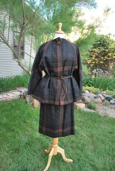 1950's Pauline Trigere Wool 2 pc Suit by govintagego on Etsy