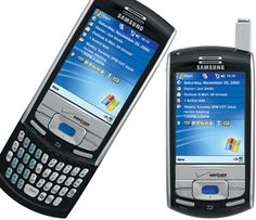 It was my first smart phone. It ran Windows Mobile and was very capable, but HUGE.