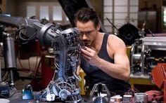 Iron Man 10 years later (thanking baby Jesus Ton Cruise was not cast as Tony Stark) Iron Man Film, Iron Man Movie, Robert Downey Jr, Playboy, Admirateur Secret, Kino Box, Les Innocents, Iron Man 2008, Iron Men 1