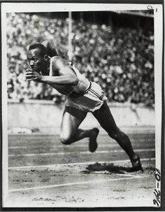 todaysdocument:  August 3, 1936 - Jesse Owens wins the 100m sprint at the Summer Olympics in Berlin.