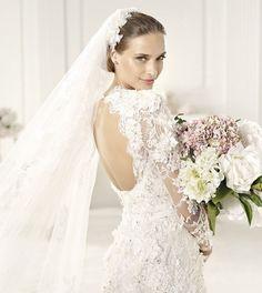 Abito da sposa 2013 Elie Saab pizzo chic
