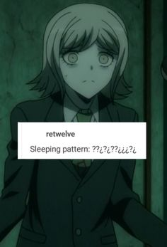i don't think ryouta ever sleeps bc he wants to work on his anime