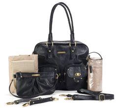 Amazon.com: timi & leslie Rachel Convertible Diaper Bag, Taupe: Baby