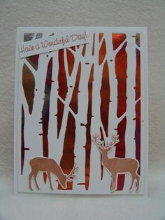 FS397 Birch With Copper by suen - Cards and Paper Crafts at Splitcoaststampers