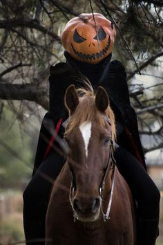 Awesome DIY instructions for a Headless Horseman costume!